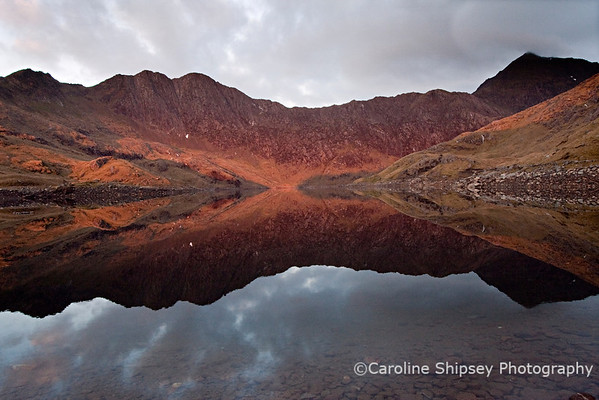 Sunrise at Llyn Lydaw