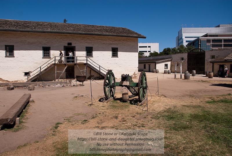 Sutter's Fort, Sacramento, California<br /> Photo-a-Day 6/21/2012