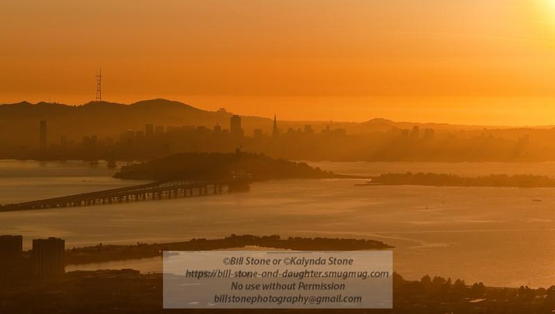 San Francisco Sunset (no color correction)<br /> Photo-a-Day 1/27/2012 Bill Stone