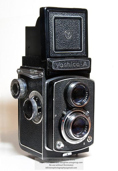 Yashica A Twin Lens Reflex Manual Camera (circa 1956-1969)<br /> Photo-a-Day 3/27/2012 Bill Stone