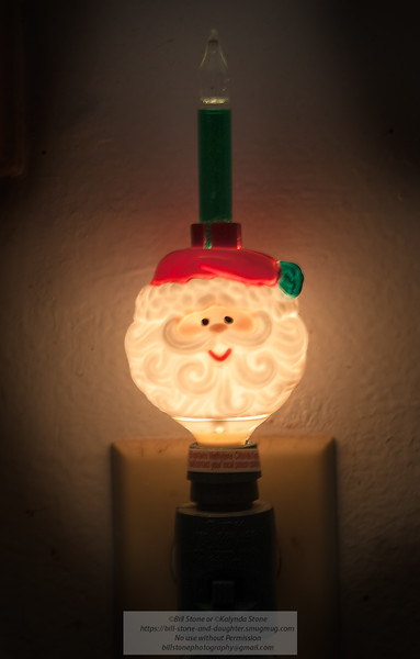 Bubbling Santa Nightlight<br /> Photo-a-Day 12/24/2012 Bill Stone