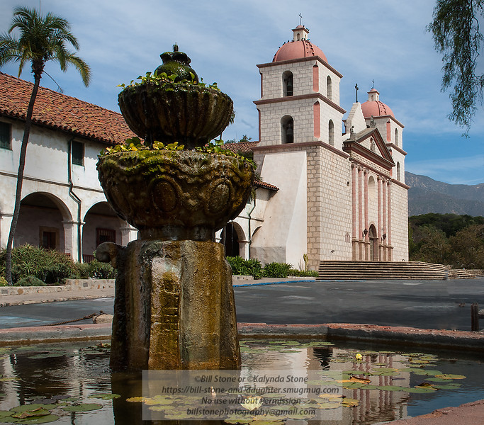 Old Mission Santa Barbara - Santa Barbara California<br /> Photo-a-Day 9/21/2012 Bill Stone