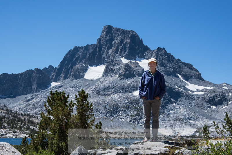 Kalynda and Banner Peak<br /> Photo-a-Day 8/29/2013 Bill Stone