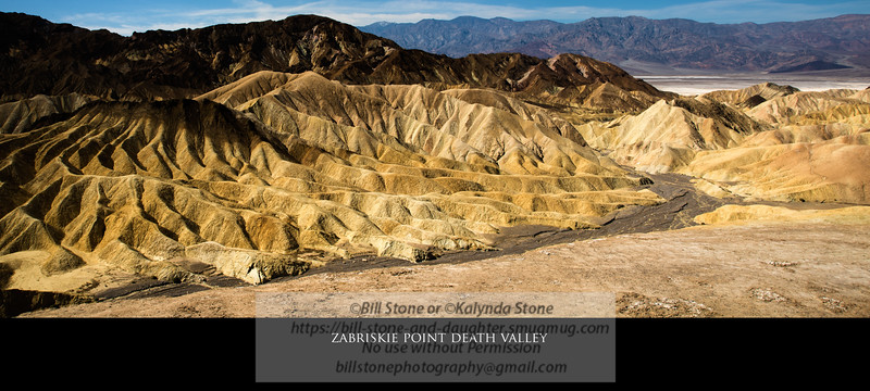 My record shot of Zabriskie point death valley<br /> Photo-a-Day 4/4/2013 Bill Stone