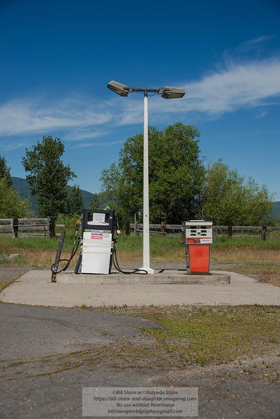 Old Gas Pumps, Fort Klamath Oregon<br /> Photo-a-Day 6/20/2013 Bill Stone