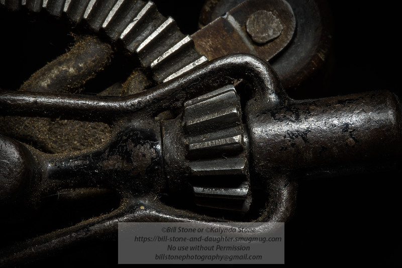 Hand Drill Detail again<br /> Photo-a-Day 8/20/2013 Bill Stone