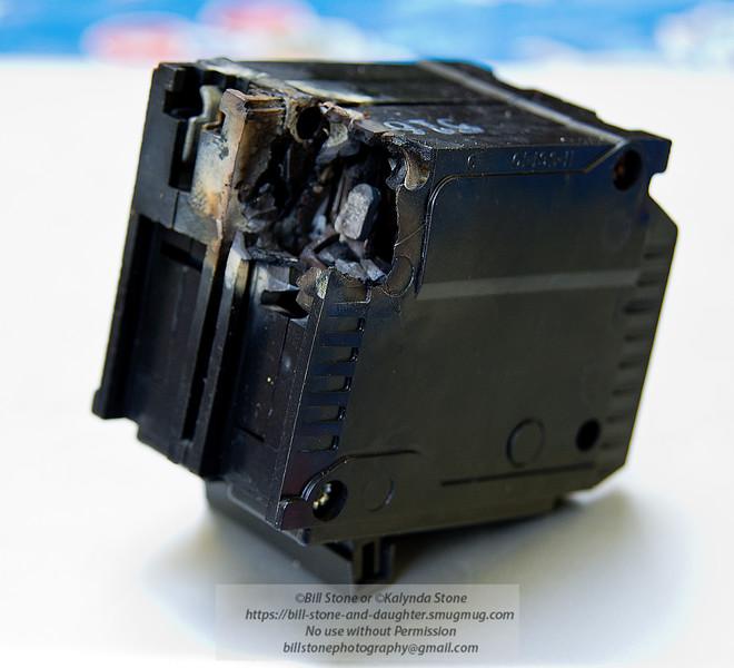 Bad main circuit breaker<br /> Photo-a-Day 7/18/2013 Bill Stone