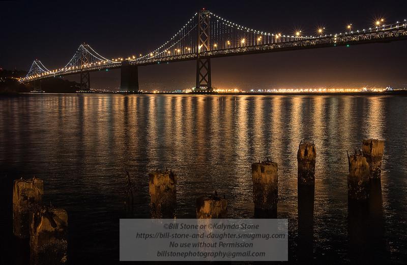San Francisco Bay Bridge, Western Span<br /> Photo-a-Day 7/1/2013 Bill Stone