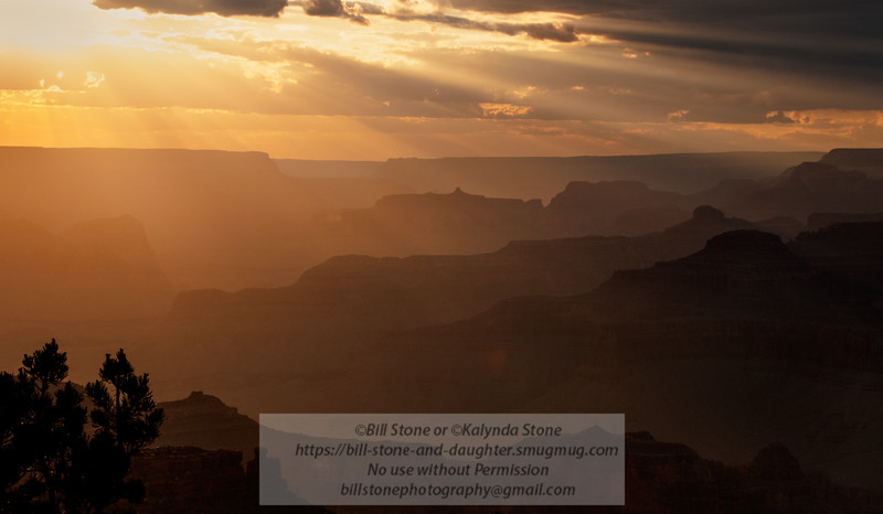 Grand Canyon Sunset<br /> Photo-a-Day 5/14/2013 Bill Stone