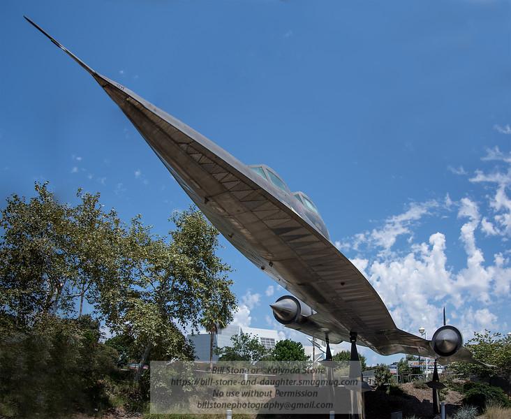 A-12 Blackbird - California Science Center<br /> Photo-a-Day 9/2/2014 Bill Stone