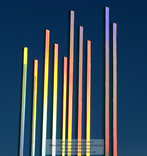 "Art installation, Davis CA<br /> Photo-a-Day 1/22/2014 Bill Stone<br /> <a href=""http://daviswiki.org/Solar_Intersections"">http://daviswiki.org/Solar_Intersections</a>"