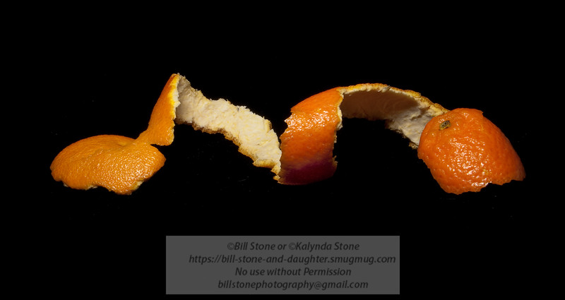 Mandarin Orange Peel - Photo-a-Day 12/22/2011 Bill Stone