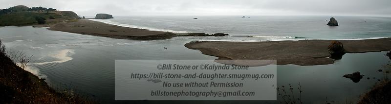 Mouth of the Russian River - Sonoma County, California. Photo-a-Day 8/20/2011 Bill Stone