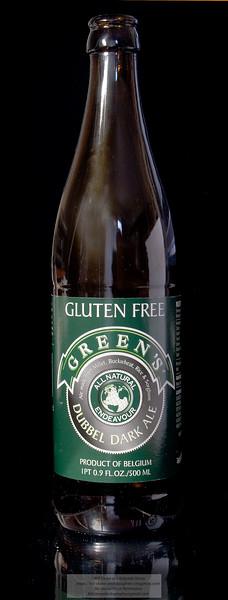 Green's Dubbel Dark Gluten Free Ale. A good Gluten-Free beer Photo-a-Day 3/19/2011 Bill Stone