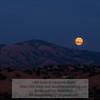 Moonrise over Mt. Diablo. Photo-a-Day 9/12/2011 Bill Stone