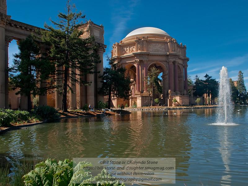Palace of Fine Arts-San Francisco. Photo-a-Day 3/31/2011 Bill Stone