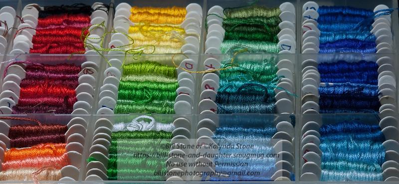 Needlework Thread Photo-a-Day 10/19/2011 Bill Stone