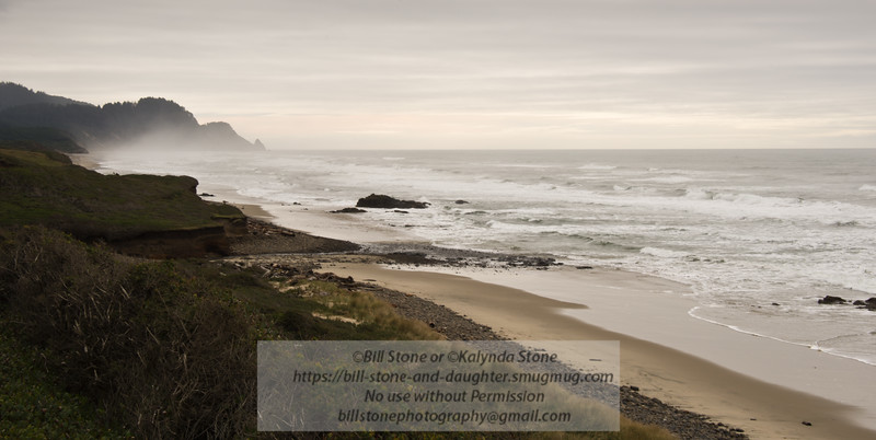Oregon coast looking south towards Heceta Head<br /> Photo-a-Day 1/5/2015 Bill Stone