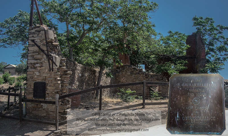 Ghirardelli Chocolate Store ruins - Hornitos California<br /> Photo-a-Day 6/12/2015 Bill Stone