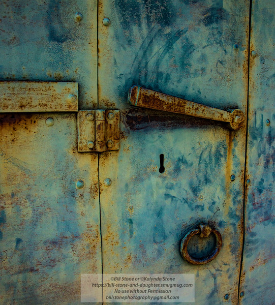 Old door - Big Oak Flat, California<br /> Photo-a-Day 6/29/2015 Bill Stone