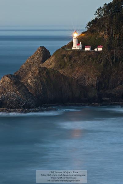Heceta Lighthouse, Oregon Coast<br /> Photo-a-Day 1/8/2015 Bill Stone