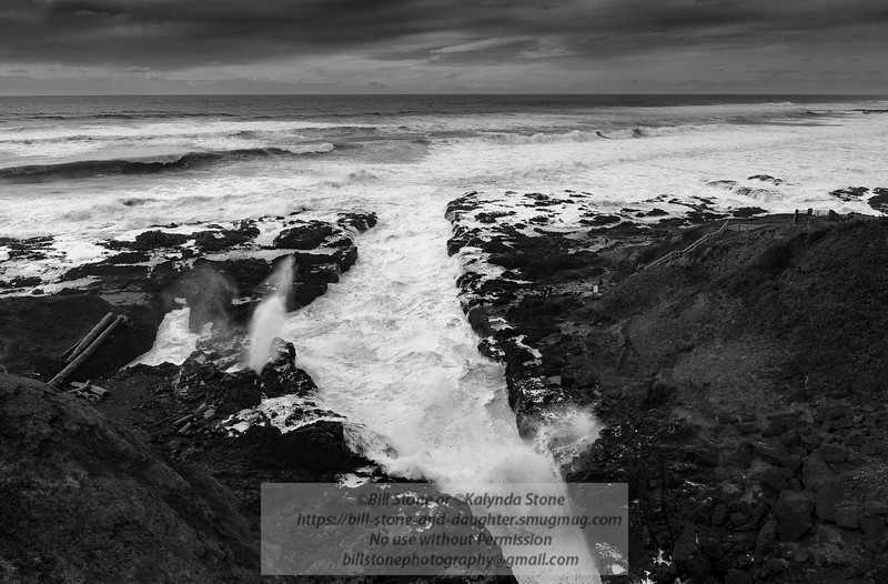Cook's Chasm - Cape Perpetua - Oregon Coast