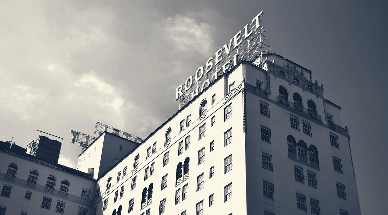 Historical Roosevelt Hotel Hollywood, CA