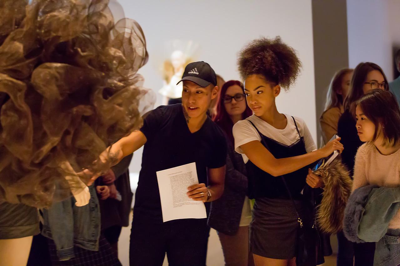 KCAD students tour Iris van Herpen Transforming Fashion at the Grand Rapids Art Museum