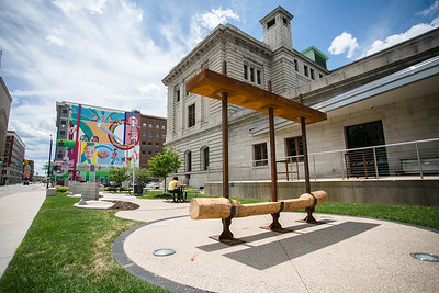 Garden Bench by Skylar Sparks (BFA Sculpture and Functional Art)