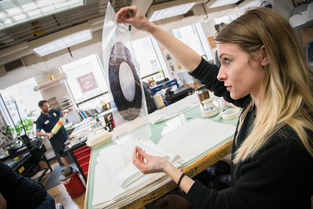 Kella Marnon ('17 BFA Printmaking)
