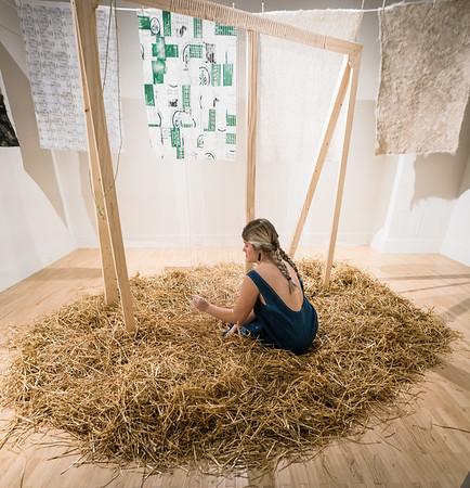 Mackenzie Lund ('17 BFA Sculpture and Functional Art) performance
