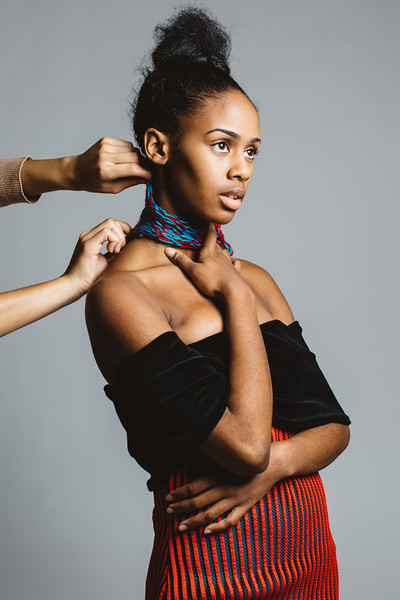 Activewear by KCAD's Pamella Roland DeVos School of Fashion student Carmen Thomas