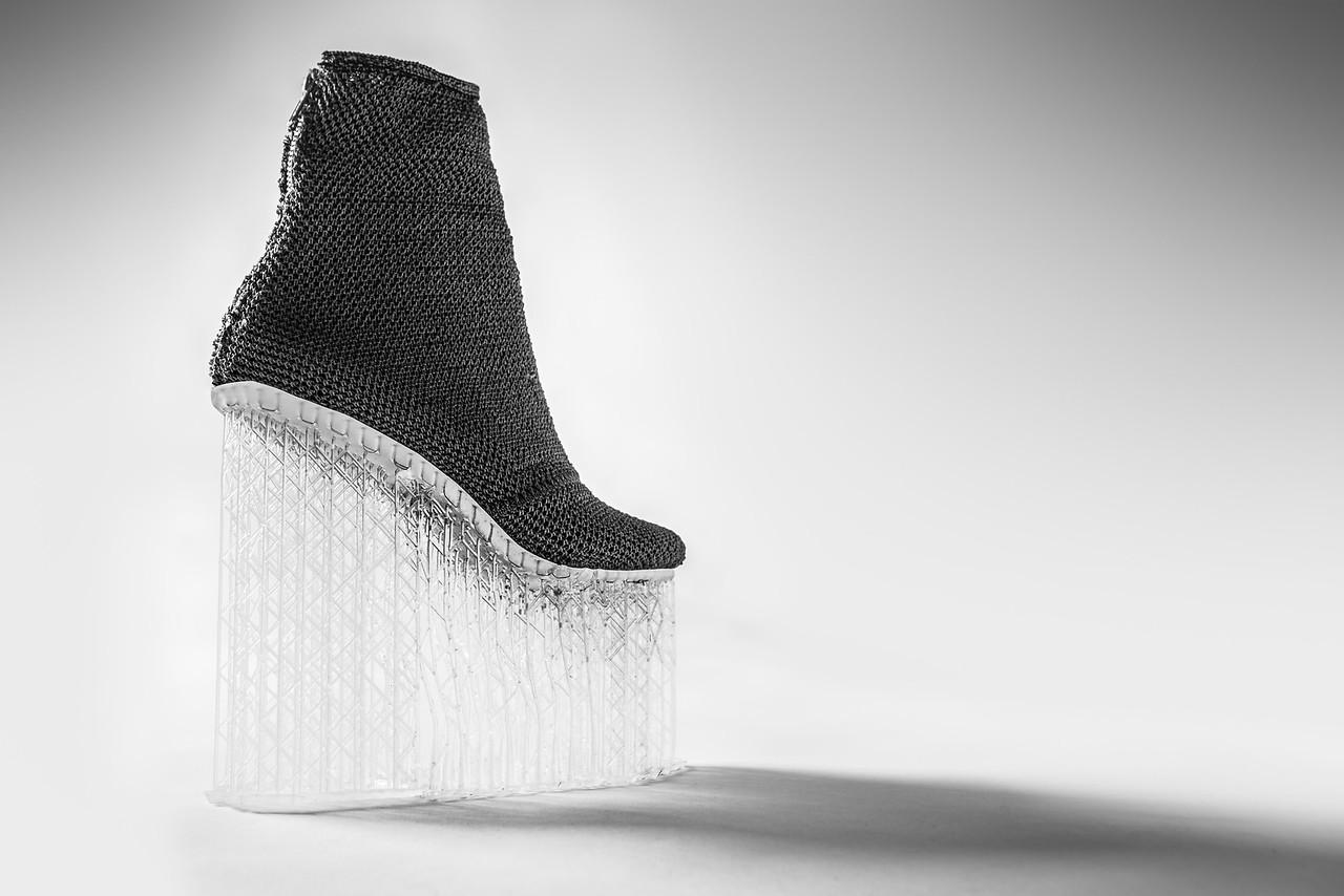 Shoe created by Andrew Taylor, Audrey Langejans and Scott Vogel