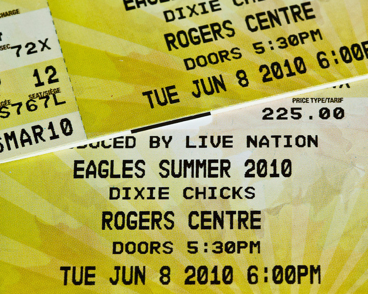 Eagles Tickets!
