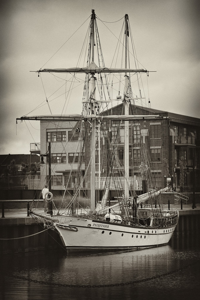 Ship at The Shipyards