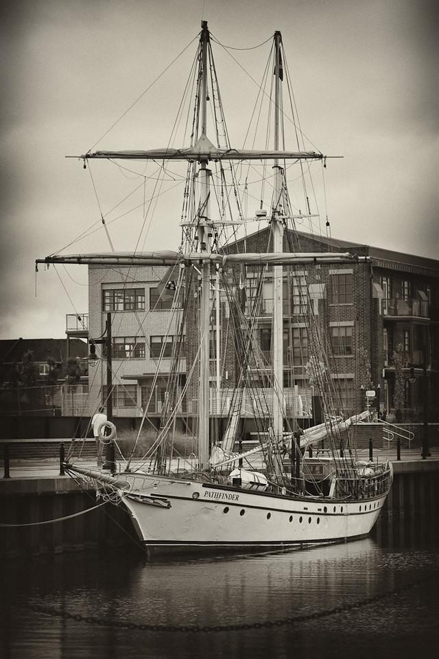 Ship at The Shipyards