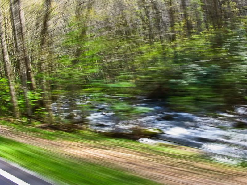 Rushing Mountain Streams