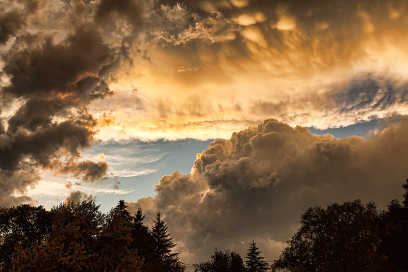 Storm at Sunset #2