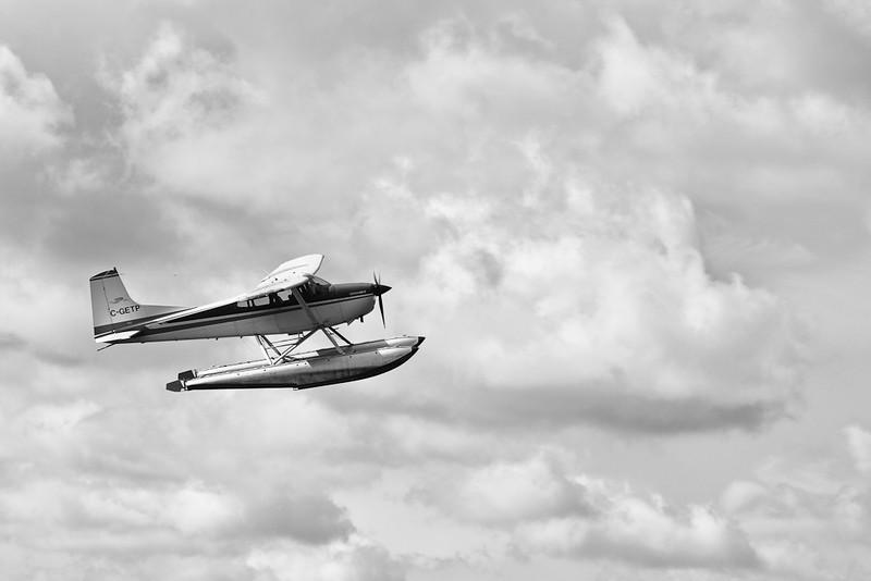 Float Plane (Silver Efex Pro)
