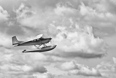 Float Plane (Silver Efex Pro 2)
