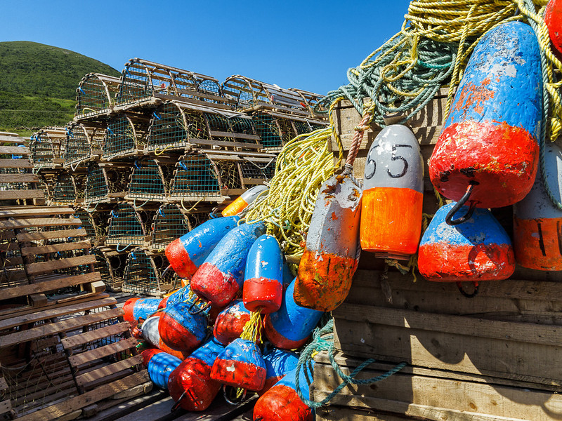 Newfoundland Trip #51 - Lobster Traps