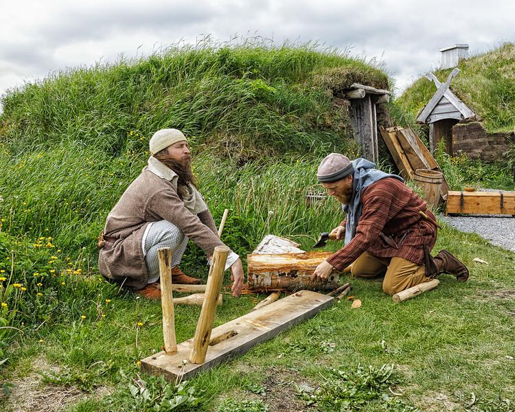 Newfoundland Trip #18 -  Viking Interpreters