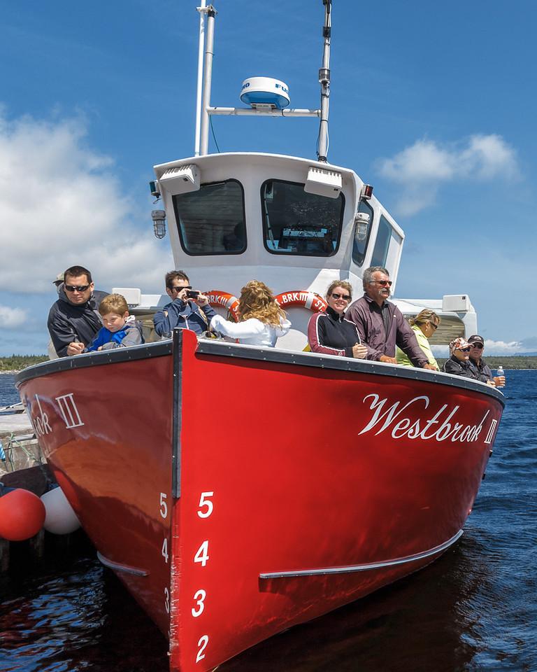 Newfoundland Trip #36 - Western Pond Fjord Tour Boat