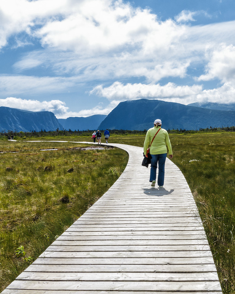 Newfoundland Trip #31 - Hiking into Gros Morne National Park