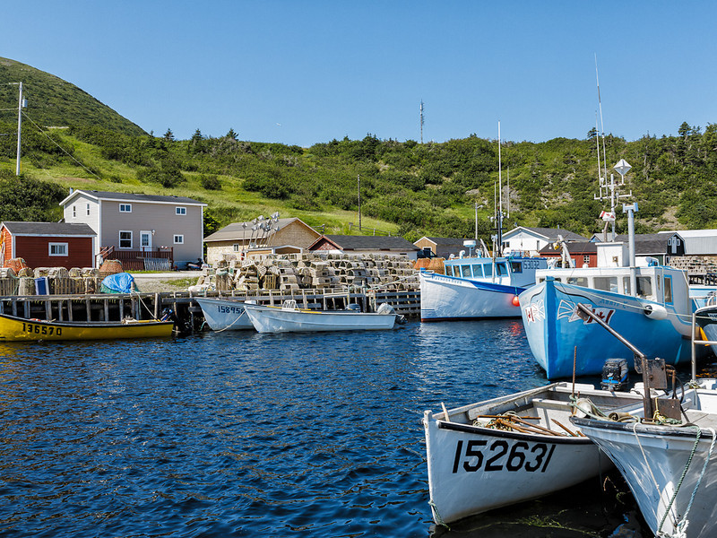 Newfoundland Trip #52 - Fishing Boats