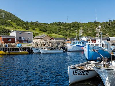 Newfoundland Trip #52 - Fishing Boats