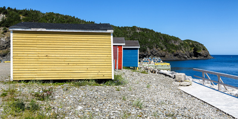 Newfoundland Trip #53 - Fish Shacks