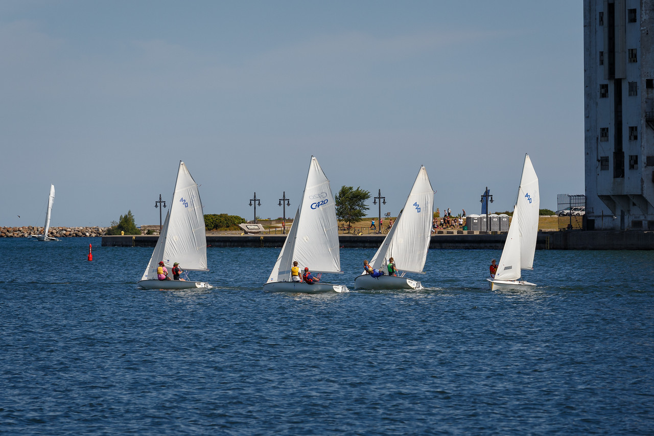 Collingwood Sailing School Regatta