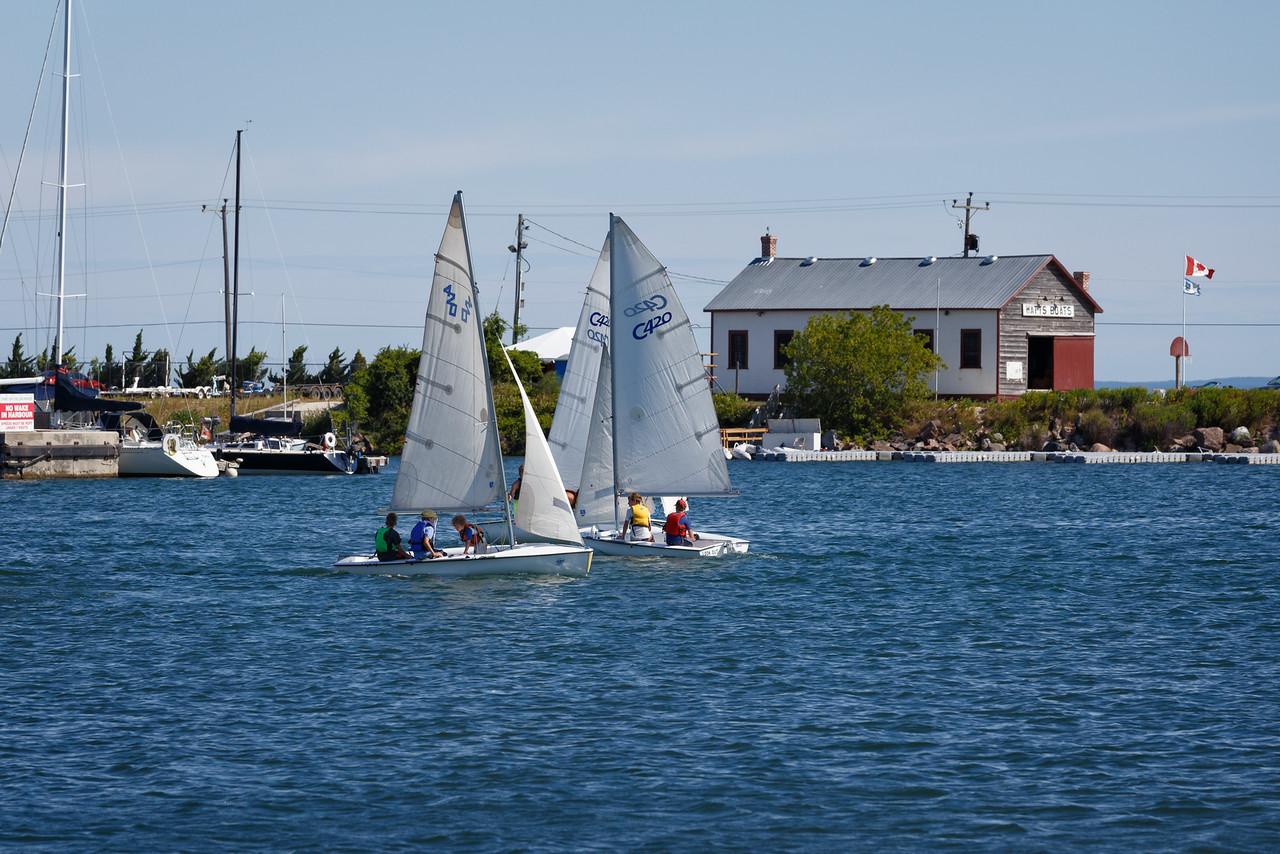 Collingwood Sailing School Regatta