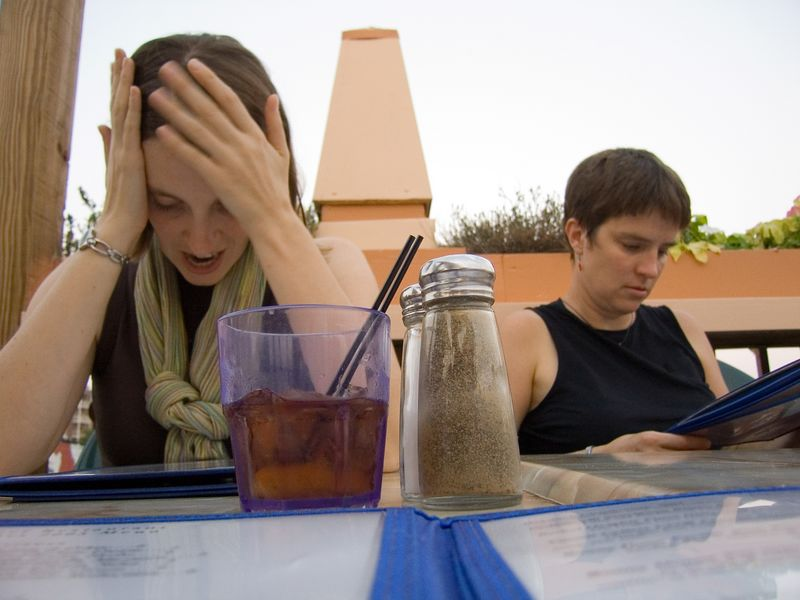 Rachel has a menu crisis